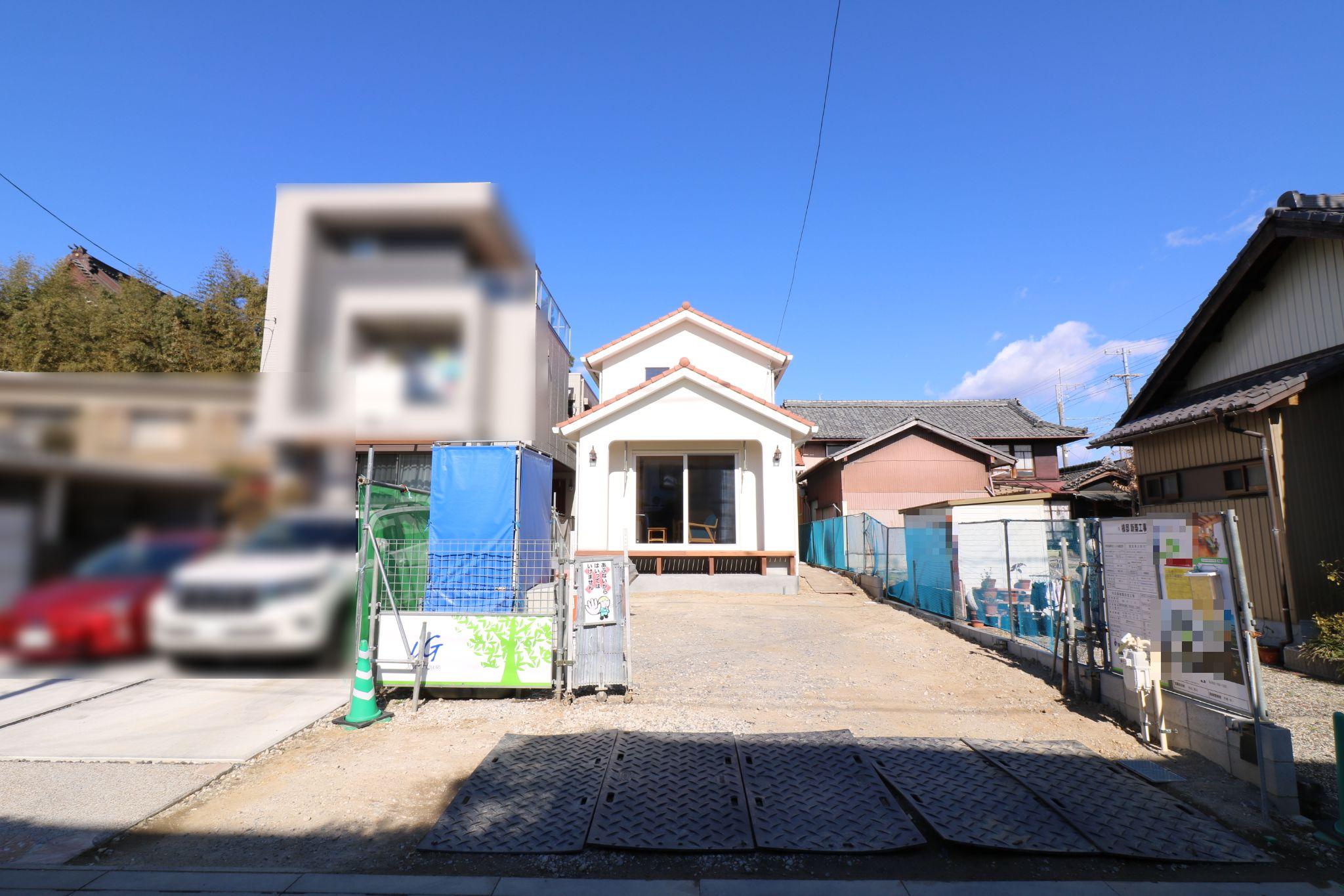豊田市完成見学会会場外観