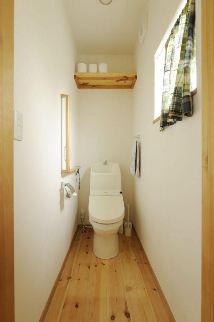 トイレ内の収納