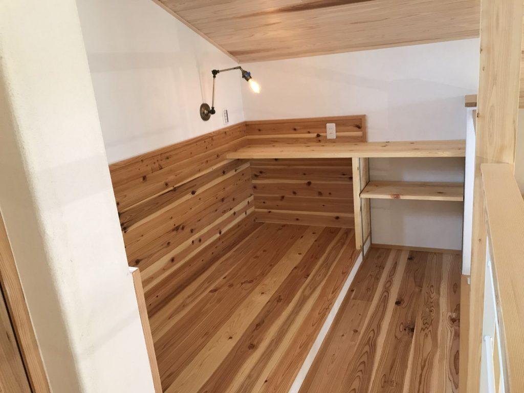 新築住宅の趣味専用スペース