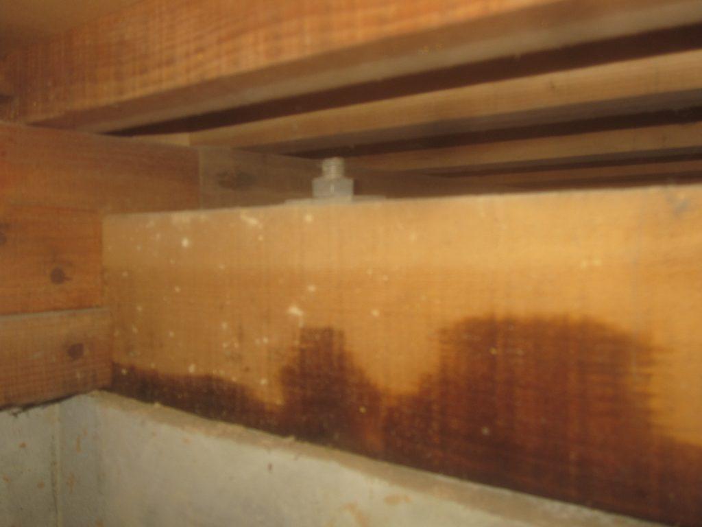 木造住宅の床下の点検