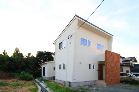 檜の家 完成