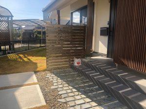 木フェンス塗装メンテナンス