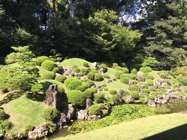 日本らしい庭園
