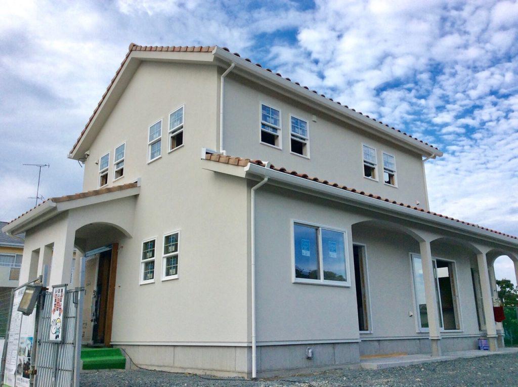 プロヴァンスデザインの新築住宅