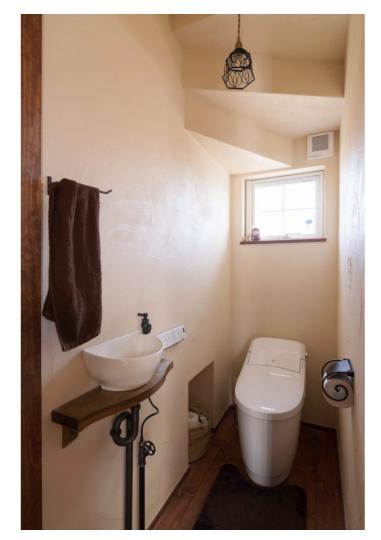 デザインも断熱も③トイレ
