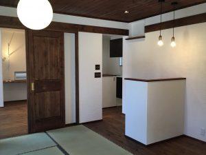 和風カフェの家 和室