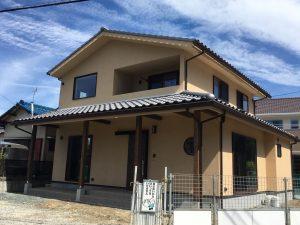 和カフェスタイルの家