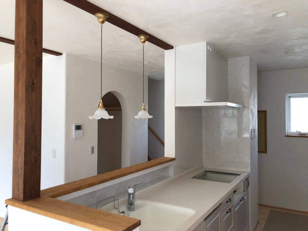 新築住宅完成見学会予定会場の室内