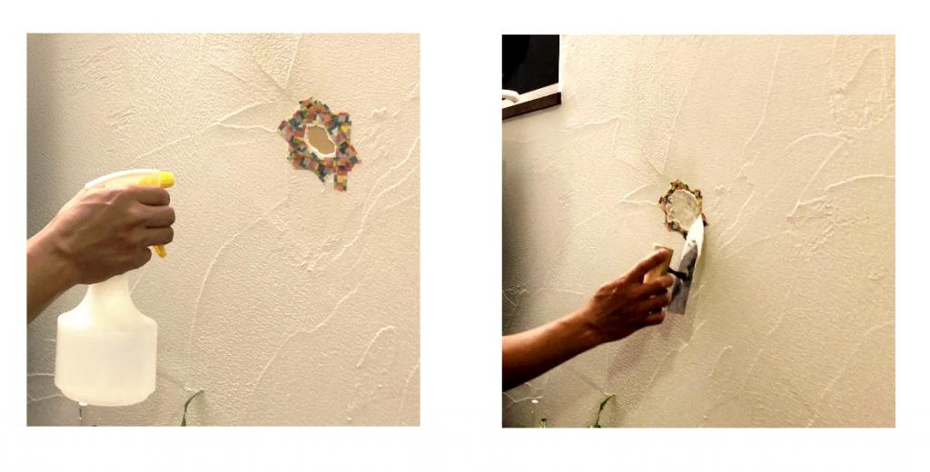漆喰の補修