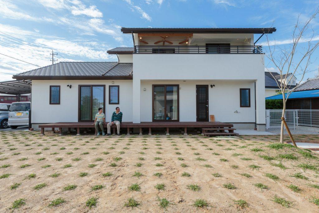 ペット共生型二世帯住宅