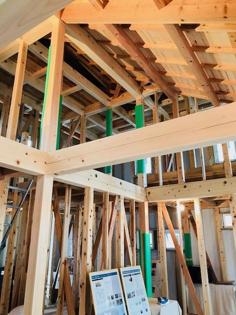 総檜造りの大屋根住宅
