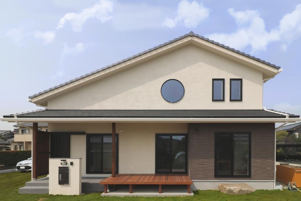 通り土間と和風モダンのお住まい オープンハウス