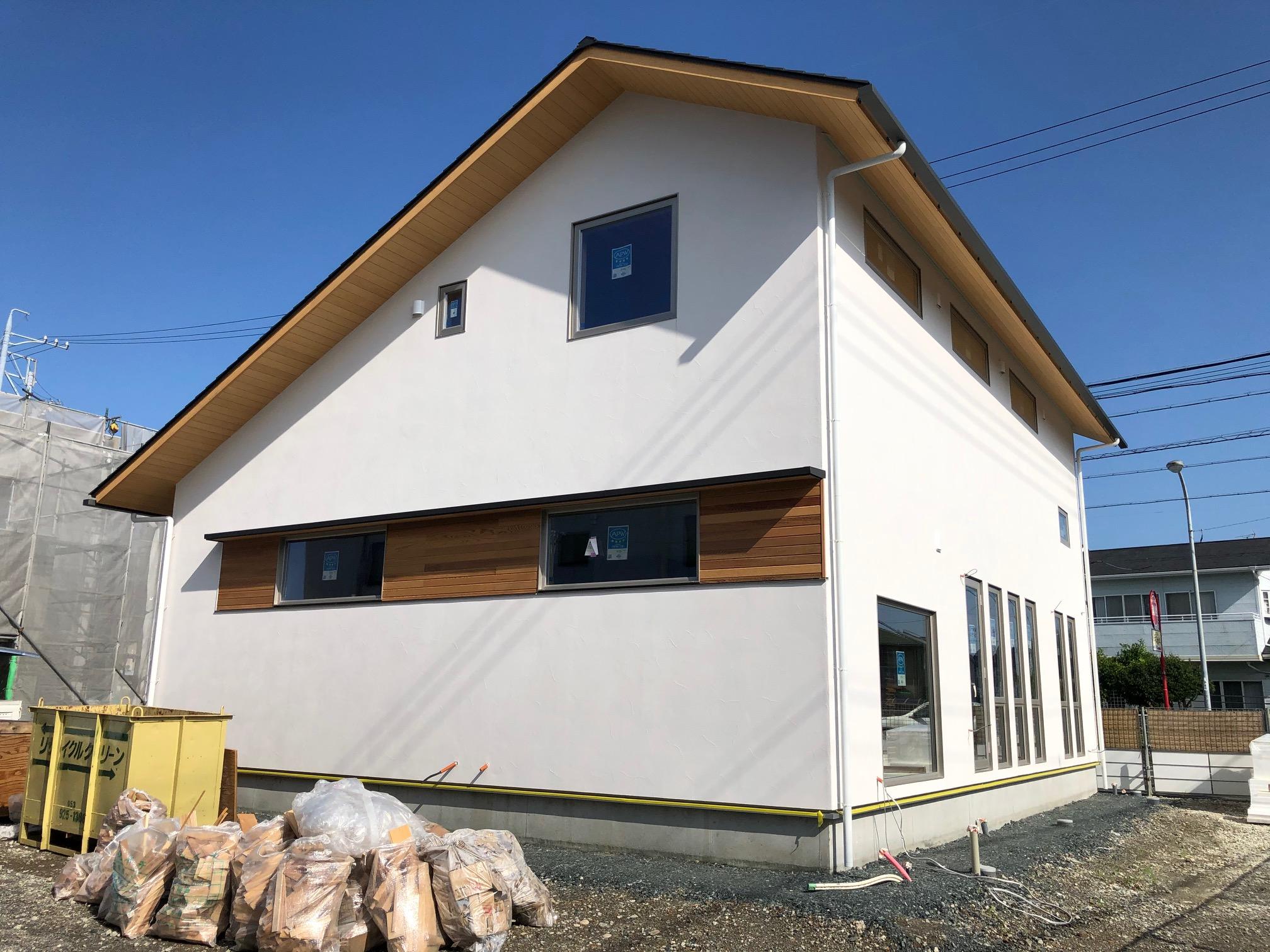 漆喰の家①