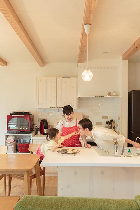 家族が笑顔になる幸せキッチン