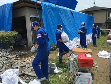 熊本地震ボランティア