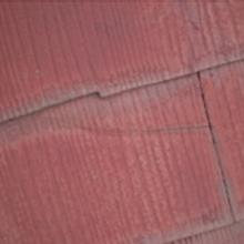 スレート瓦(カラーベスト・コロニアル)のひび割れ