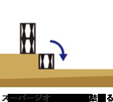 STEP2スーパージオR材を敷き詰める
