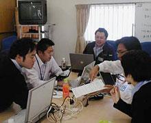 写真:プロジェクトミーティング