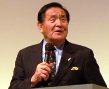 京都伏見高校ラグビー部総監督 山口良治先生 講演