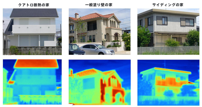 サーモグラフィーカメラ撮影イメージ