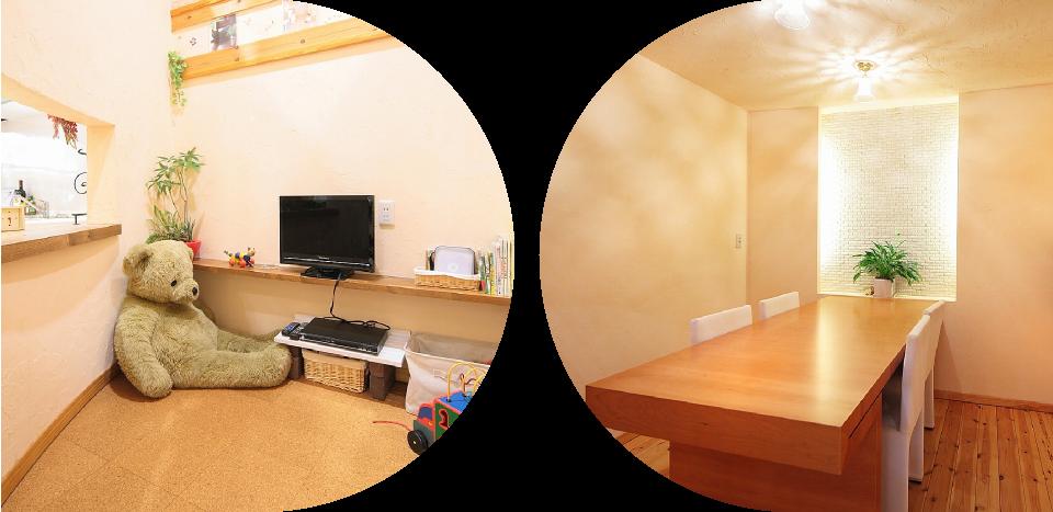打合せ室で理想の暮らしをイメージ