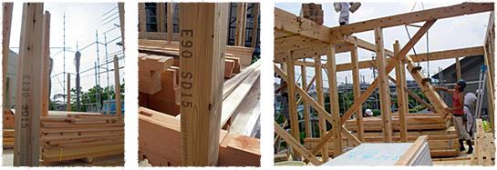 アイジースタイルハウスの基準(土台・柱)