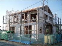 木造軸組み+パネル=『軸組みパネル工法』