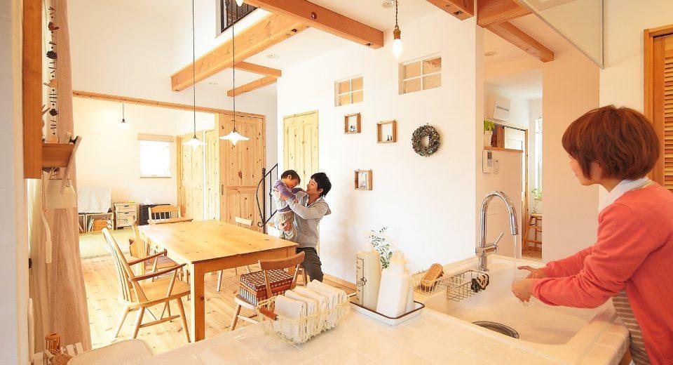 機能性満載のナチュラル・シンプルな空間×プロヴァンスの家