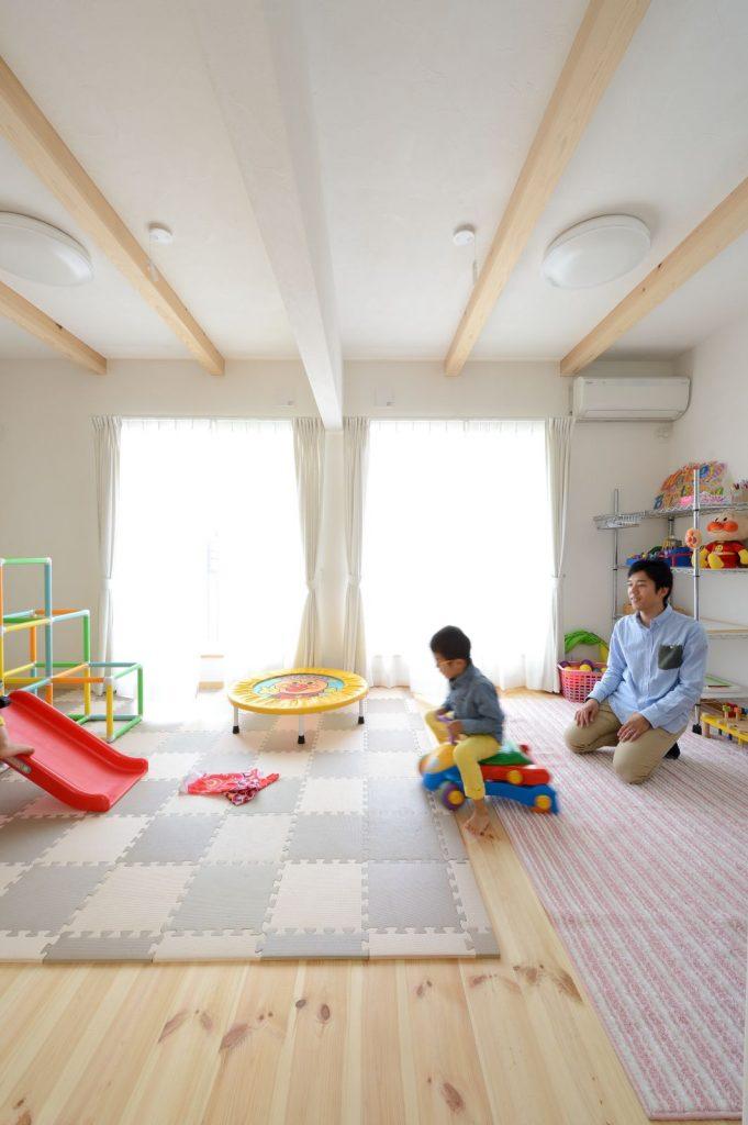 子ども室は将来2つに分けられるように