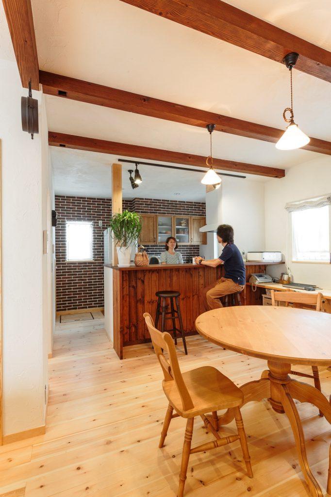 まるでカフェかのようなお洒落なオープンキッチン