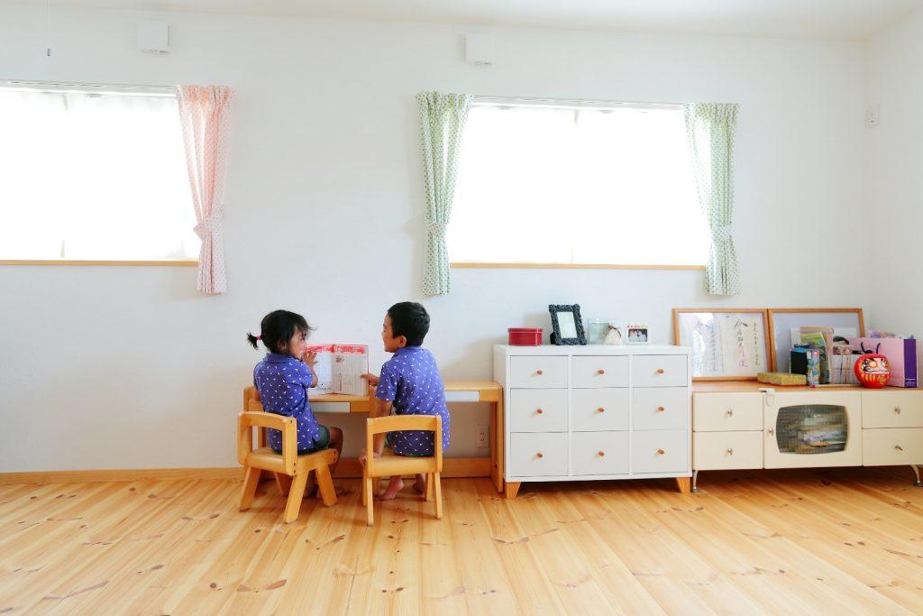 11帖の子ども部屋は、成長に合わせてセパレートが可能