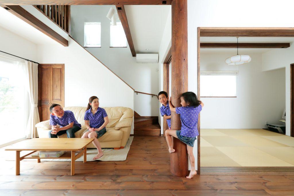 元気印の家族が選んだ天然素材100%の健康住宅