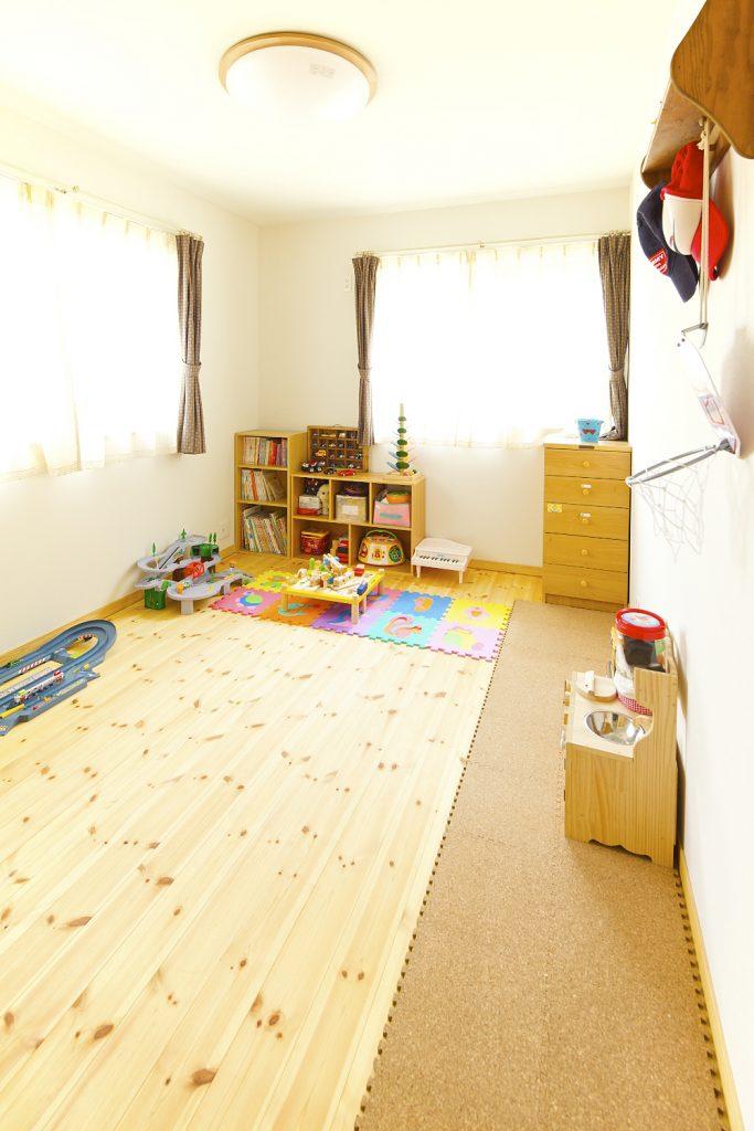 子ども部屋も可愛らしく演出。