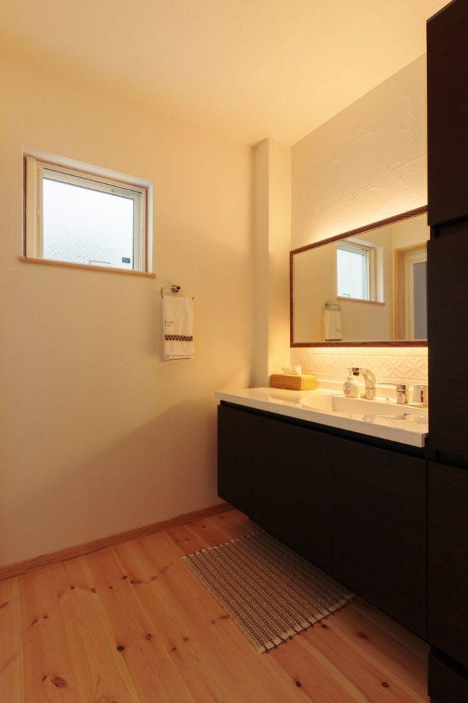 ホテルライクな洗面台