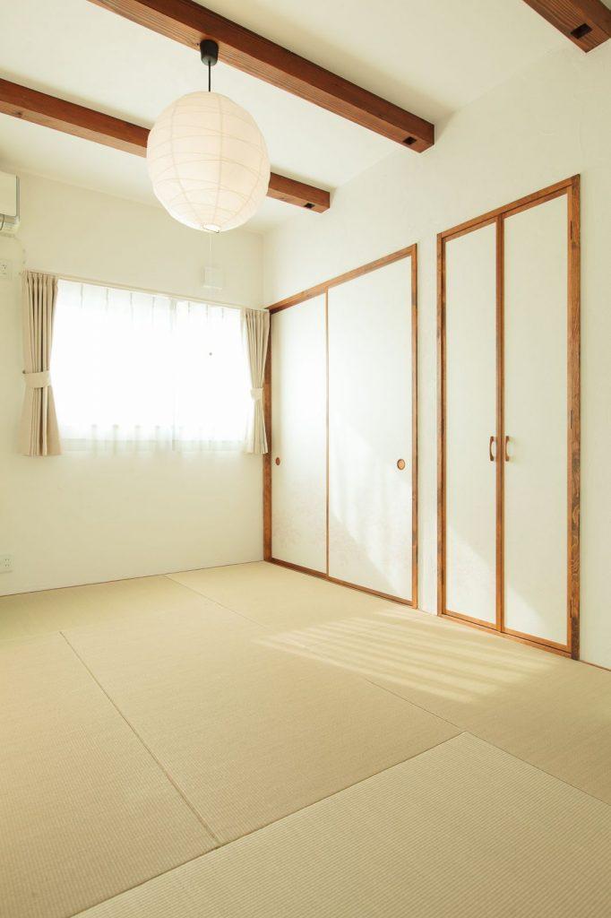 LDKの隣には何かと重宝する和室を設けた