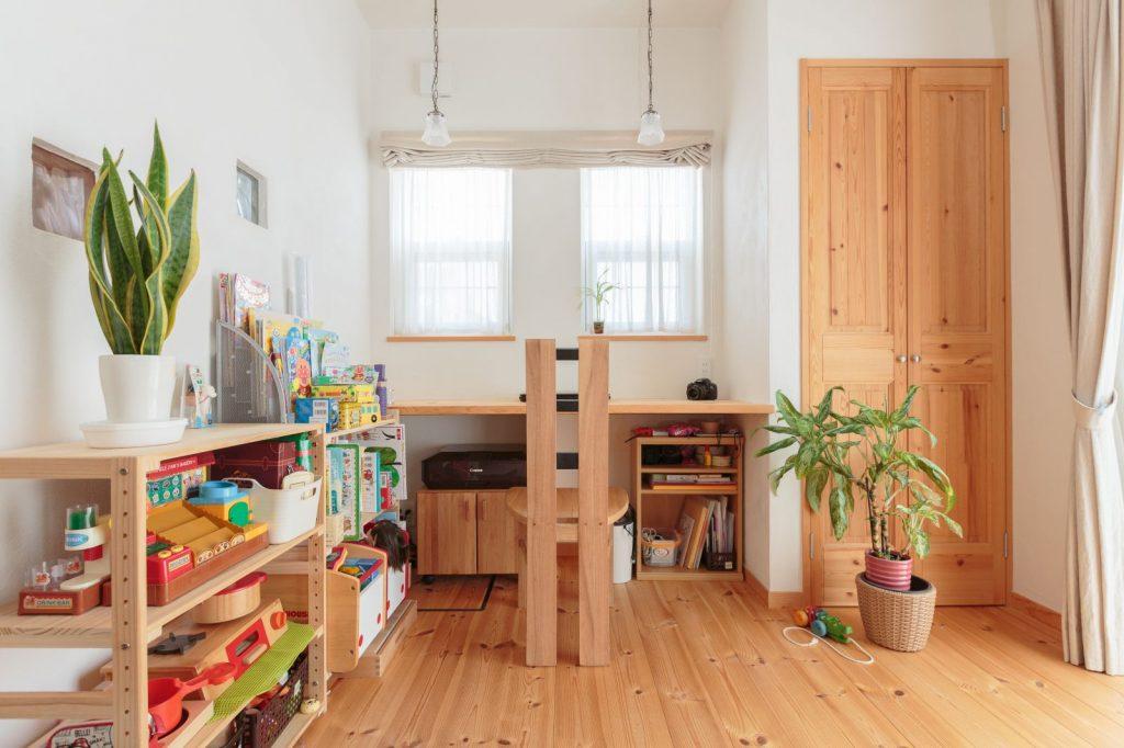 LDKの中には家族共有のスペースも