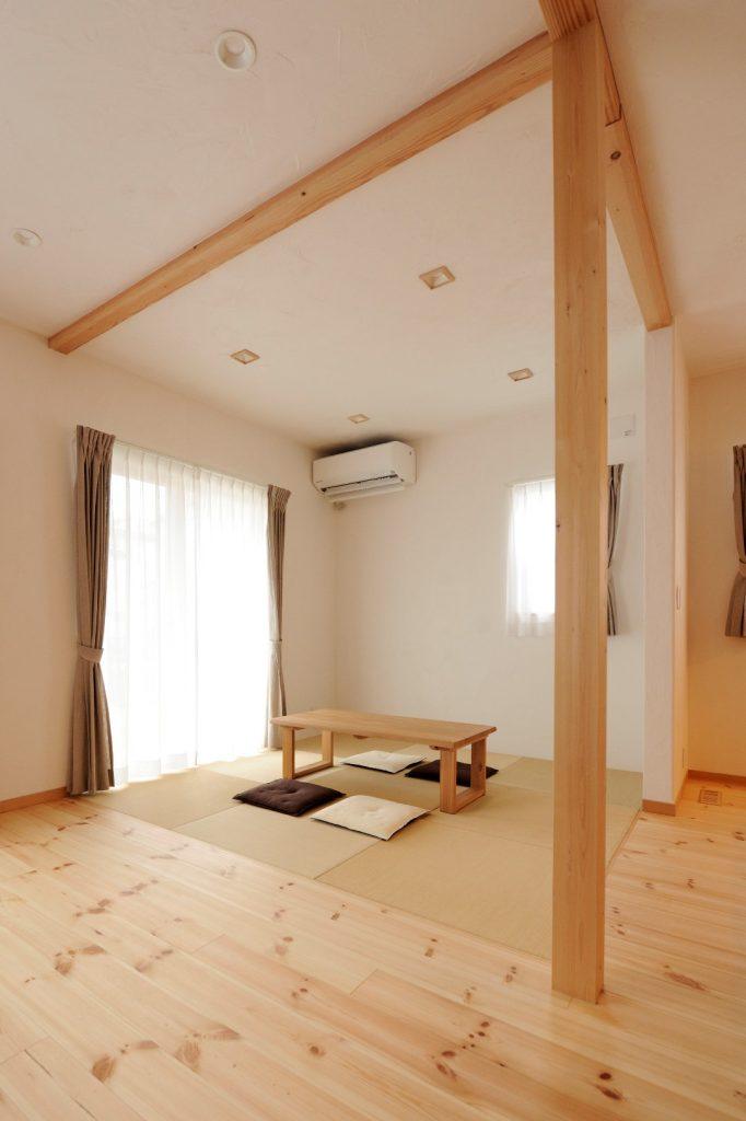 いつか歳をとったとき、この和室を寝室へと改装する予定!