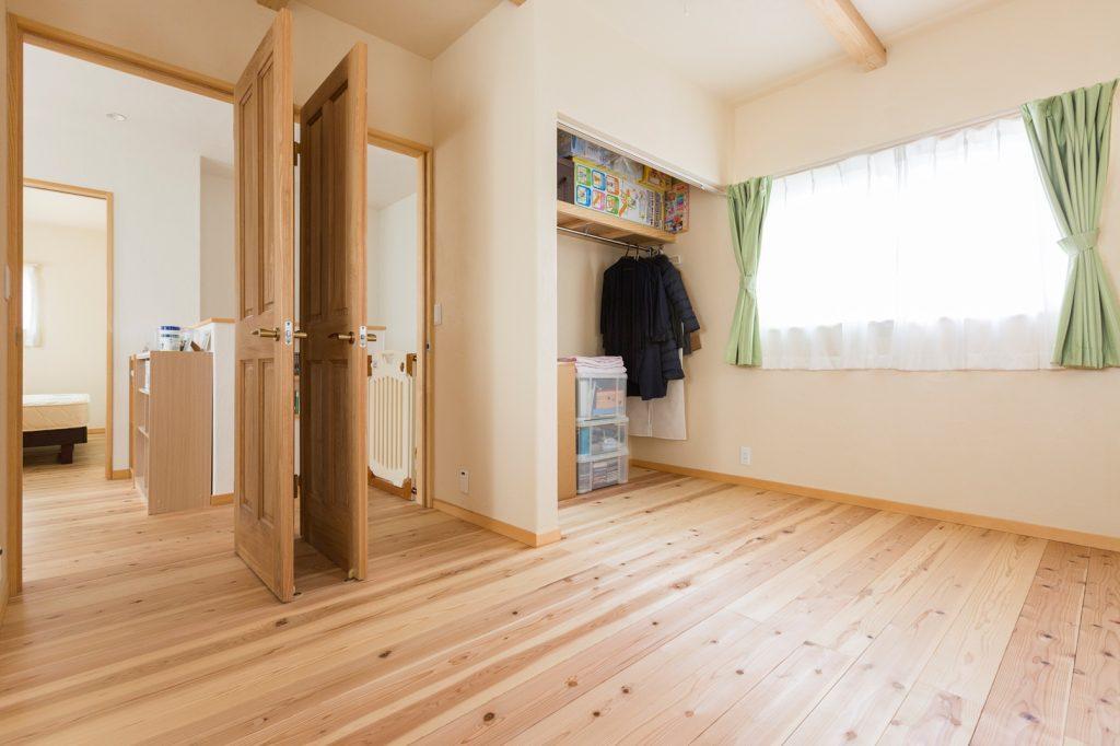 将来2部屋に仕切れる子ども部屋