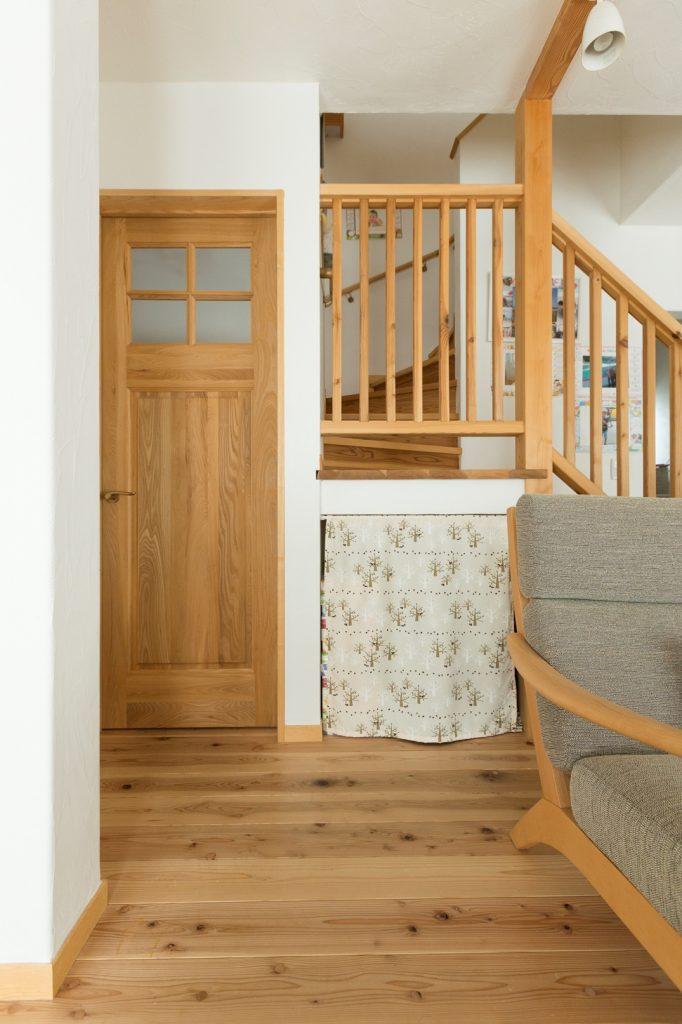 階段下収納でムダのない空間づくり