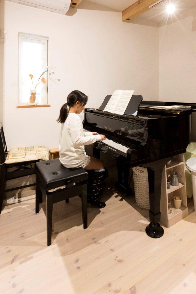 防音◎ピアノ室