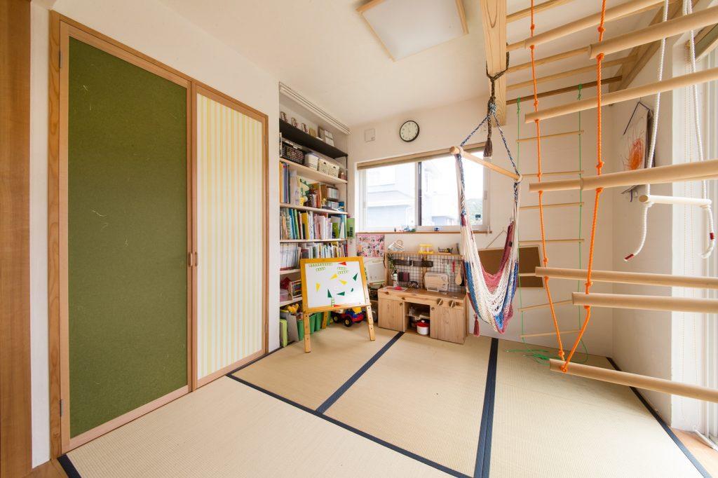 おままごとキッチンは奥様のDIY 遊べる和室