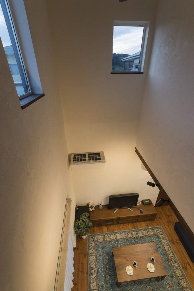 LDKと繋がる2階ホール