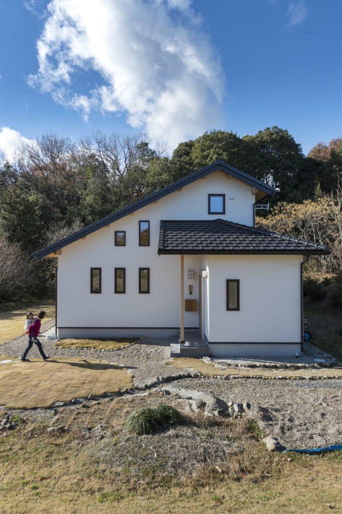 安心感のある大屋根の家