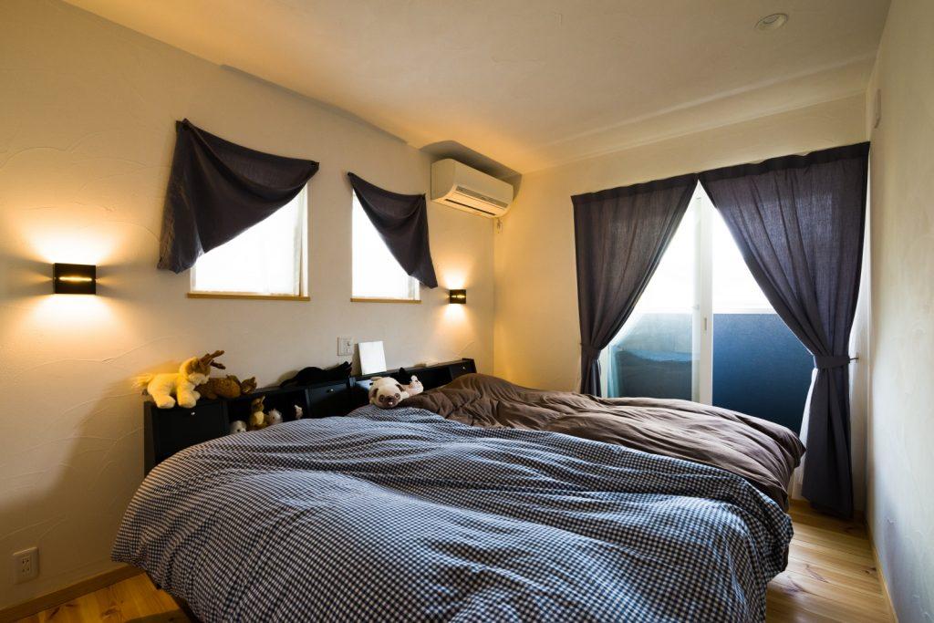 よく眠れるホテルライクな寝室