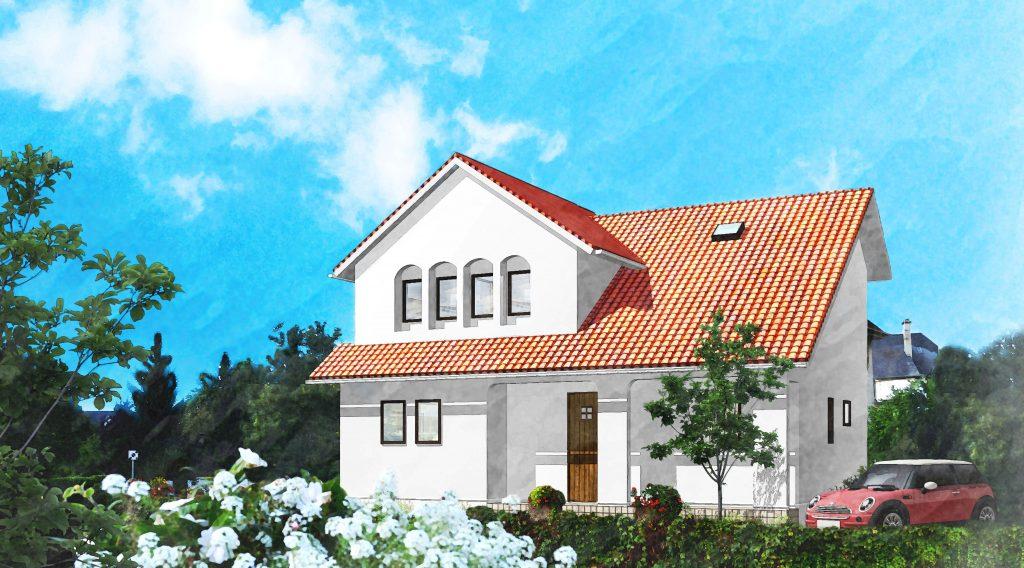 ヨーロッパの田舎を思わせる こだわりのプロヴァンス住宅|新築完成見学会