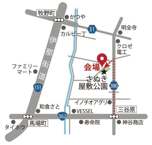 辻様邸地図