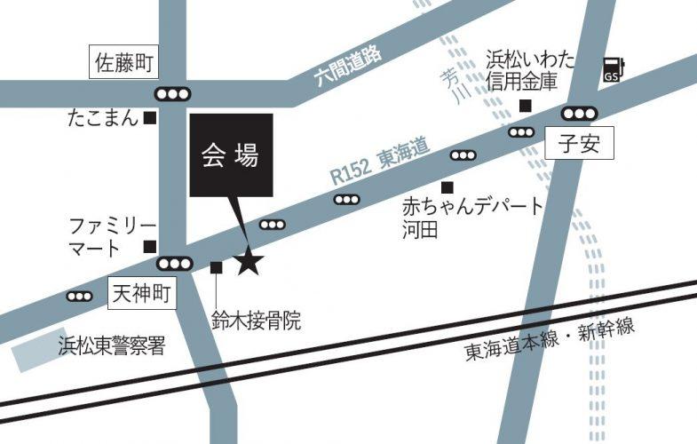 浜松市中区天神町_MAP