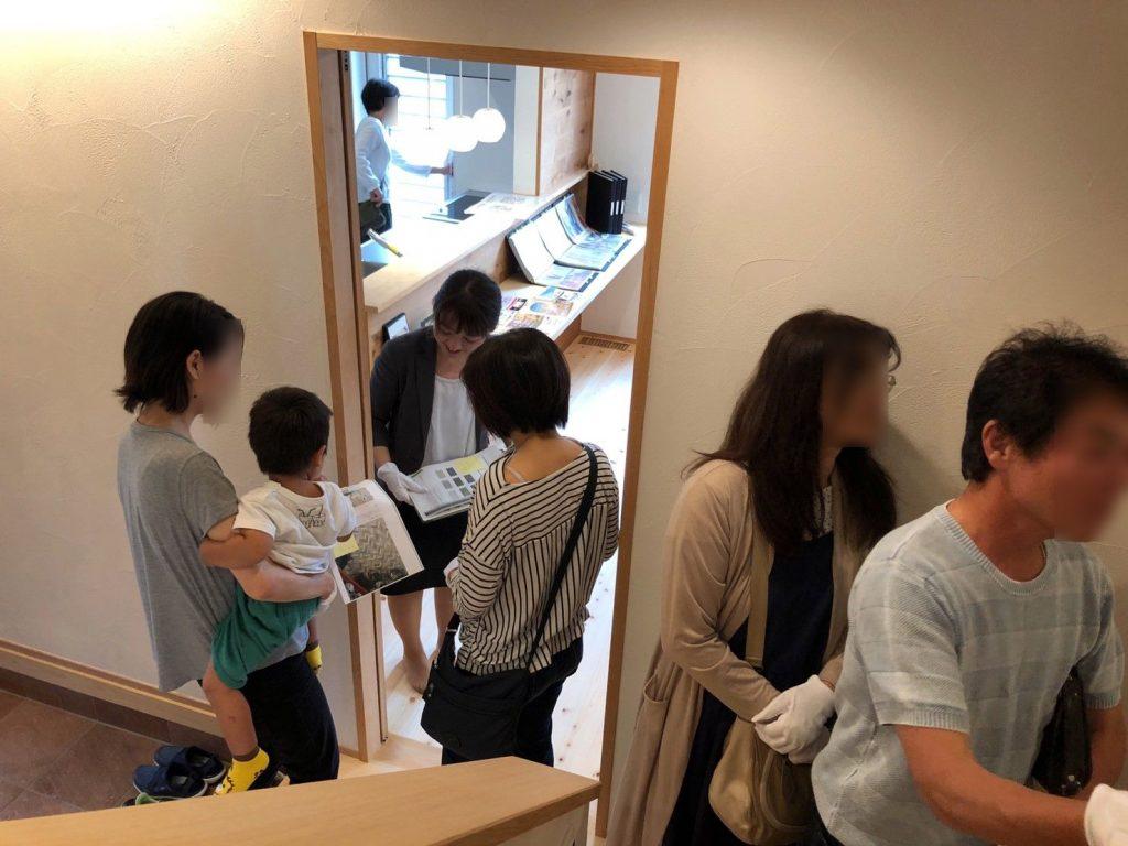 浜松市二世帯住宅見学会の様子