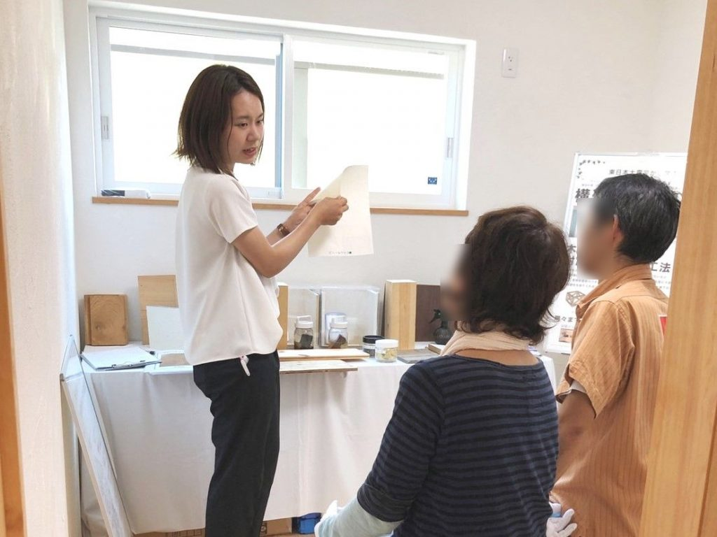 浜松市東区新築住宅完成見学会の様子