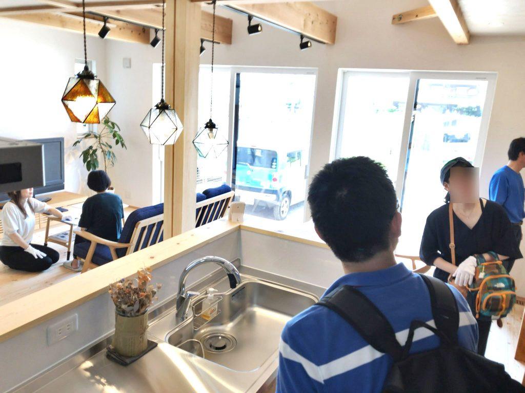 清須市新築住宅完成見学会の様子